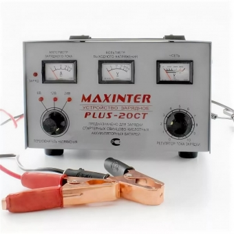 Maxinter Plus-20CT (Dynamic) 6/12/24В 30А